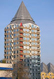Torre della matita a Rotterdam, Paesi Bassi Fotografie Stock Libere da Diritti