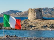 Torre della Pelosa, Stintino, Italy Stock Photo