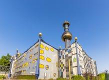 Torre della pianta d'elaborazione a Vienna Fotografia Stock