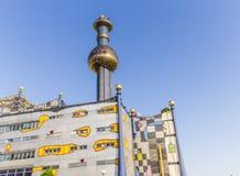 Torre della pianta d'elaborazione a Vienna Fotografie Stock Libere da Diritti