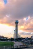 Torre della Riunione al tramonto Immagine Stock