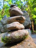 Torre della roccia immagini stock libere da diritti