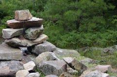 Torre della roccia Fotografie Stock Libere da Diritti