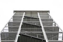 Torre della scala del metallo Immagini Stock