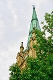 Torre della st James Anglican Cathedral, Toronto immagine stock libera da diritti