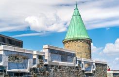 Torre della st John Gate a Québec, Canada Immagini Stock