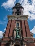 Torre della st Michaelis, Amburgo, Fotografia Stock Libera da Diritti