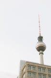 Torre della televisione a Berlino Fotografia Stock Libera da Diritti