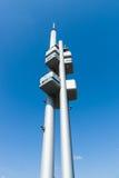 Torre della televisione di Praga Zizkov Immagini Stock Libere da Diritti
