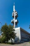 Torre della televisione di Praga Zizkov Fotografie Stock Libere da Diritti