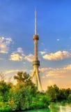Torre della televisione di Taškent nell'Uzbekistan Fotografia Stock