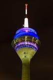 Torre della televisione a Dusseldorf Fotografie Stock