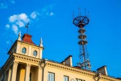 Torre della televisione a Minsk Fotografie Stock