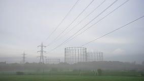 Torre della trasmissione, pilone, Immagine Stock Libera da Diritti