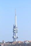 Torre della TV Fotografie Stock Libere da Diritti