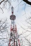 Torre della TV Fotografia Stock Libera da Diritti
