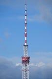 Torre della TV Immagini Stock Libere da Diritti