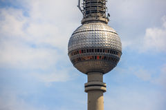 Torre della TV (Fernsehturm) Berlino, Germania Fotografia Stock
