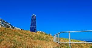 Torre della zappa di Samphire lungo il Ciiffs bianco della linea costiera di Dover Immagini Stock
