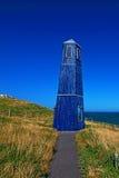 Torre della zappa di Samphire lungo il Ciiffs bianco della linea costiera di Dover Fotografie Stock