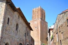 Torre delle Milizie in Rome Stock Photos