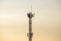 Torre delle Telecomunicazioni Immagini Stock