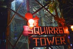 Torre dello scoiattolo a Robin Hill Immagini Stock