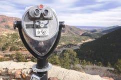 Torre dello spettatore a Colorado Springs Immagini Stock Libere da Diritti