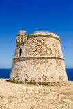 Torre des Garrovet in Babaria Cape Formentera Royalty Free Stock Images