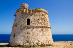 Torre des Garrovet in Babaria Cape Formentera Stock Photography