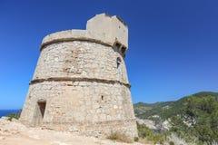 Torre des Molarny wierza, Ibiza wyspa Obrazy Royalty Free