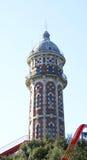 Torre di acqua antica Immagine Stock
