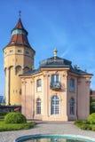 Torre di acqua con Pagodenburg in Rastatt Fotografia Stock