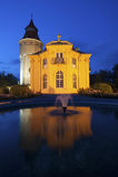 Torre di acqua con Pagodenburg in Rastatt Immagini Stock
