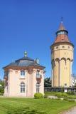 Torre di acqua con Pagodenburg in Rastatt Fotografia Stock Libera da Diritti