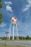 Torre di acqua con progettazione a quadretti Immagine Stock Libera da Diritti