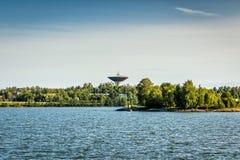 Torre di acqua di Lauttasaari, Helsinki fotografia stock libera da diritti