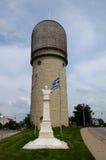 Torre di acqua di Ypsilanti Fotografie Stock