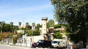 Torre di acqua nella vicinanza di Clota della La Immagine Stock