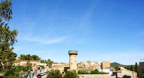 Torre di acqua nella vicinanza di Clota della La Fotografia Stock Libera da Diritti