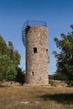 Torre di acqua, pietra impilata Immagini Stock