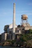 Torre di acqua su Alcatraz Immagine Stock Libera da Diritti