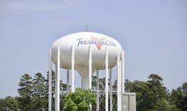 Torre di acqua di Texarkana fotografia stock