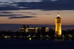 Torre di acqua Zwijndrecht immagine stock libera da diritti