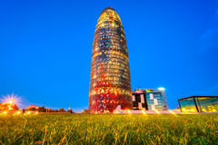 Torre di Agbar, Barcellona Fotografia Stock Libera da Diritti