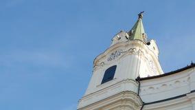 Torre di alta chiesa Fotografia Stock