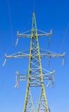 torre di alta tensione di 110 chilovolt Fotografia Stock