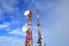 Torre di Antena Fotografia Stock Libera da Diritti