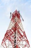 Torre di antenna fotografie stock