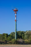 Torre di antenna alta Fotografia Stock
